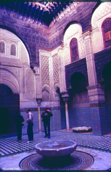 ac32_FES,_Attarine-Medresse_Marokko_27.12.85-5.1.86.jpg